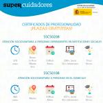 SUPERCUIDADORES ofrece 10 plazas gratuitas para cursar el Certificado de Profesionalidad