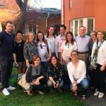 Un grupo de profesionales de la residencia Siggebogardens de Estocolmo (Suecia) visita l'Onada Serveis