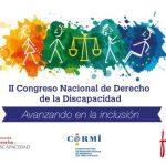 II Congreso Nacional de Derecho de la Discapacidad. 6, 7 y 8 de febrero de 2019 en Pamplona