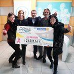La dirección de L'Onada Serveis agradece la implicación de todos los que han hecho posible aportar 21.710,16 euros a la Marató de TV3 y superar un nuevo hito solidario en la historia de la organización