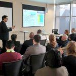 Una delegación del HUCA muestra en Londres cómo reducir los efectos adversos de los tratamientos y la medicación con las nuevas tecnologías