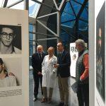 El consejero Salud inaugura la exposición sobre daño cerebral adquirido
