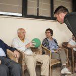 La Fundación Real Madrid amplía su colaboración con DomusVi y por primera vez realiza actividades físicas para mayores fuera de la Comunidad de Madrid