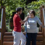 """La Fundación Instituto San José inaugura un circuito exterior de rehabilitación para """"ensayar"""" la vida diaria antes del alta"""