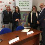 Presentado en Huesca el VIII Congreso Nacional de Alzheimer organizado por la Confederación Española de Alzheimer (CEAFA) que se celebrará el 14, 15 y 16 de noviembre