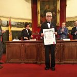 El Nobel Tasuku Honjo, padre de la inmunoterapia, recibe el Premio Fernández-Cruz y la medalla de académico de honor electo de la Real Academia Nacional de Medicina de España