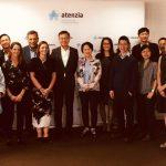 Atenzia recibe la visita de una delegación de Hong Kong interesada en el servicio de teleasistencia