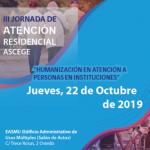 III Jornada de Atención Residencial de ASCEGE