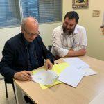 La Fundación Mémora y el Hospital San Juan de Dios de Santurtzi firman un convenio