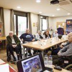 Ex futbolistas del Barcelona, Valladolid y Málaga rememoran sus vivencias para ayudar a luchar contra el alzhéimer en las residencias DomusVi