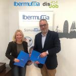 Acuerdo entre Ibermutua y Disjob a favor de la inclusión sociolaboral de personas con discapacidad