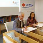 La SEMI y la SEQCML firman un convenio para poner en marcha proyectos en el campo asistencial, formativo e investigador