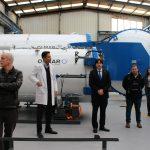 Asturias inicia el reciclaje de más de medio millón de mascarillas al día para personal sanitario de centros de toda España