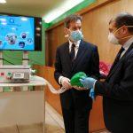 El respirador diseñado en Andalucía para el Covid-19 despierta el interés del Gobierno central