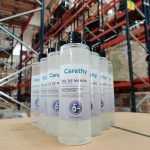 Carethy dona más de 100.000 euros en productos de higiene a residencias, para disminuir la transmisión del COVID-19