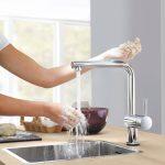 GROHE ofrece una amplia selección de soluciones para maximizar la higiene en el baño y la cocina