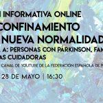 """La Federación Española de Párkinson aportará recomendaciones para una adecuada adaptación de las personas afectadas a la """"nueva normalidad"""""""