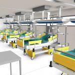 ¿Cómo aumentar las camas hospitalarias para abordar la siguiente pandemia?