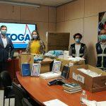 Vitogas dona tabletas y material de protección a la Residencia de ancianos Penedès