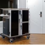 Carros ScanBox para el transporte de comidas