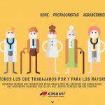 Amavir pone en valor el compromiso del sector frente a la pandemia de coronavirus en su campaña «Es tiempo de unión»