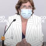 María Victoria Broto: «Trabajamos intentando blindar al máximo las residencias, pero el riesgo cero no existe»
