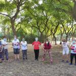 Las personas mayores vuelven a llenar de vida los parques de Sevilla