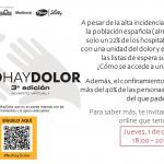 3ª edición #NoHayDolor