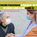 II Edición Curso «La atención Psicológica a Personas Mayores en Crisis como la del COVID-19» Online
