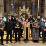 Amavir participa en el acto de homenaje a las víctimas del coronavirus en las residencias de mayores de Navarra