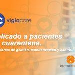 Vigiacare, aplicado a pacientes en cuarentena