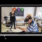 La estimulación cognitiva y la realidad virtual de Kwido Mementia para personas mayores llegan a Rumanía