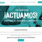 Sanidad #PorElClima impulsa la acción climática en el sector sanitario