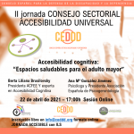 II Jornada del Consejo Sectorial de Accesibilidad Universal