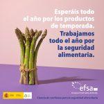La AESAN y la EFSA lanzan la campaña #EUChooseSafeFood (La UE elige alimentos seguros) para ayudar a la ciudadanía a tomar decisiones alimentarias informadas
