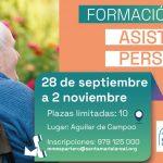 La Fundación Santa María la Real y la Agrupación Comarcal de Desarrollo de la Montaña Palentina lanzan un curso de Asistencia Personal