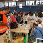 La Diputación contacta con los usuarios de ayuda a domicilio y mayores desalojados y colabora con 112 y Cruz Roja para atender a los desplazados